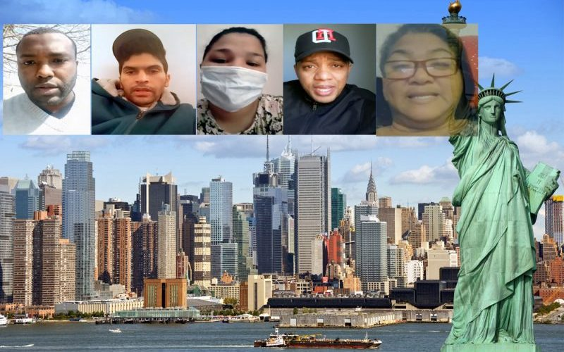 Dominicanos en NY esperan sean repatriados