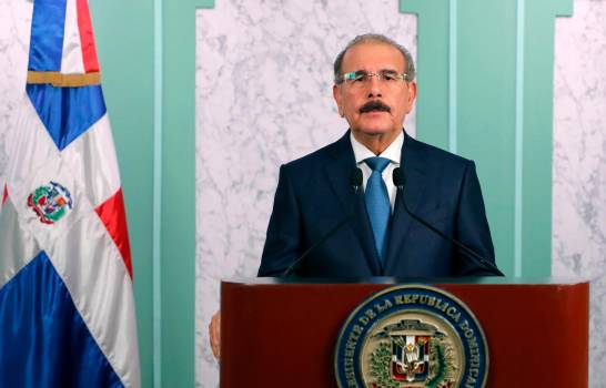 "Danilo Medina dice: ""No es momento bajar la guardia"""