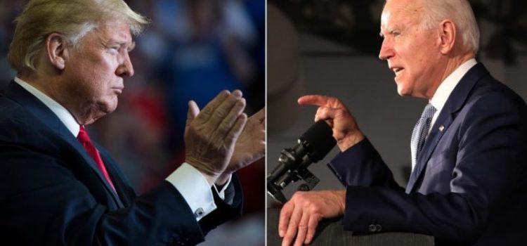 Trump dice no participaría en debate si es de forma virtual
