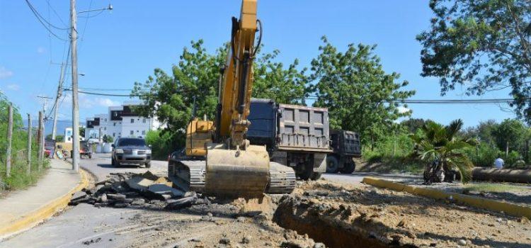 Comienza a funcionar un colector de aguas residuales