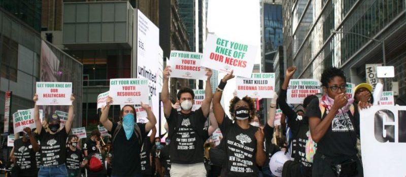 Regresan protestas por la muerte de George Floyd