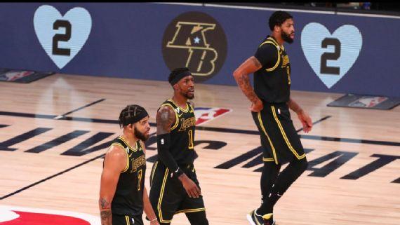 Lakers triunfan en noche de Kobe
