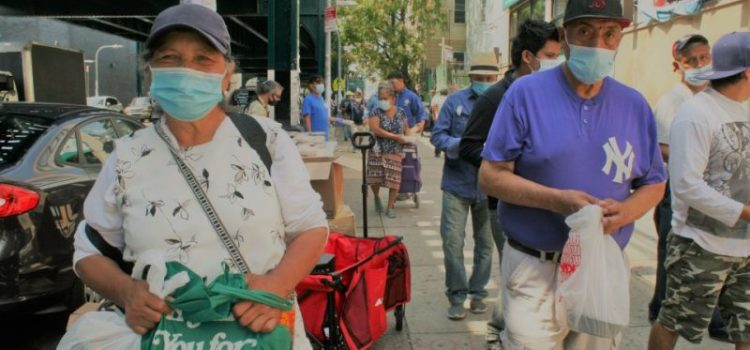 Mala economía por pandemia afecta a muchos inmigrantes