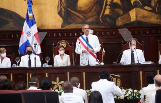 Luis Abinader dice justicia actuará en casos corrupción