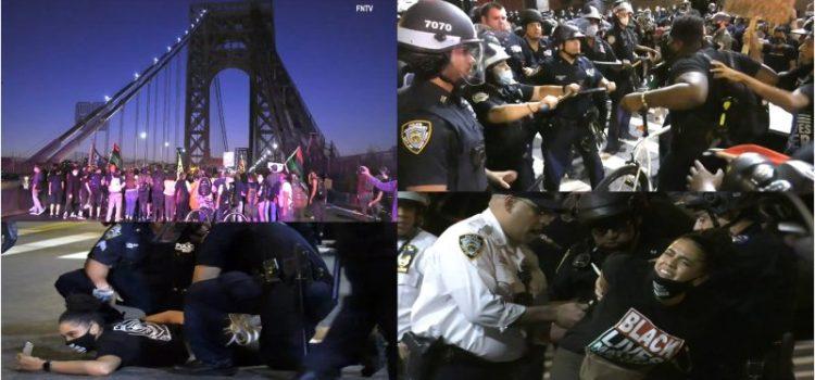 Defensores afroamericanos bloquean puentes