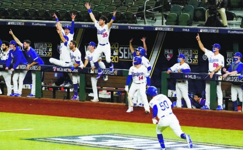 Dodgers campeón de Serie Mundial