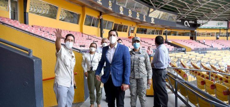 Realizan inspección de estadio Cibao