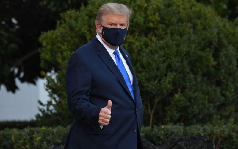 Trump espera dejar hospital este lunes en la noche