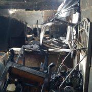 Incendio destruye siete casas en barrio de Santiago