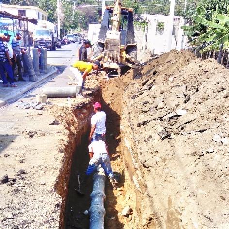 Coraasan concluye cambio tuberías en sector de Santiago