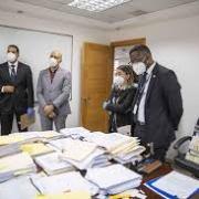 Analizan papeles hallados en la Cámara de Cuentas