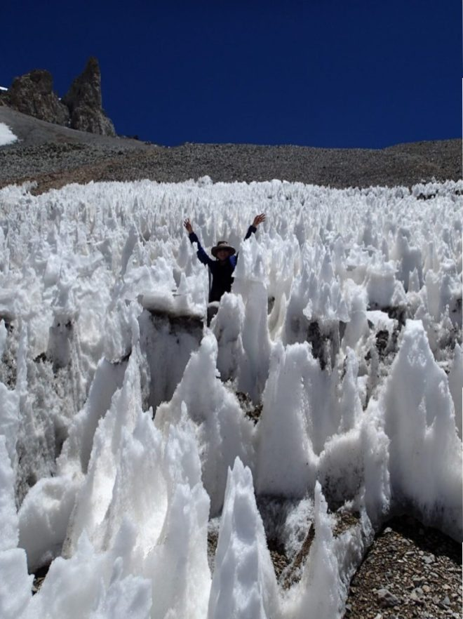 Me in Argentinian ice