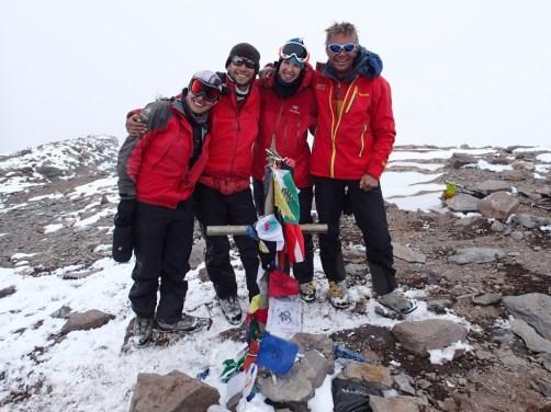 Argentina climb team