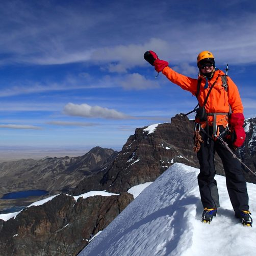 Bolivia climb