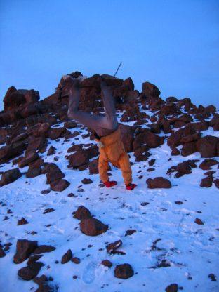 Climbing in Kenya