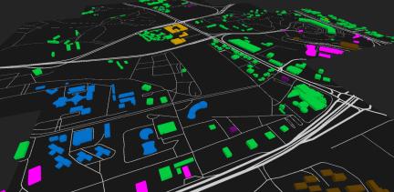 lots of tile osm mapzen unity3d pokemongo