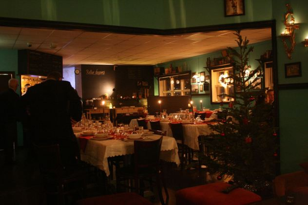 Christmas bufet at Báran.