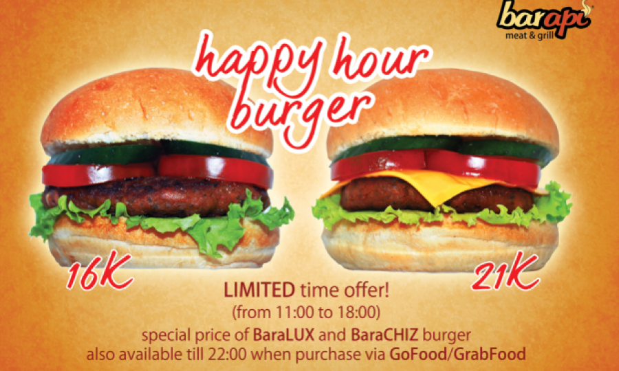 Happy Hour: 11am to 6pm daily
