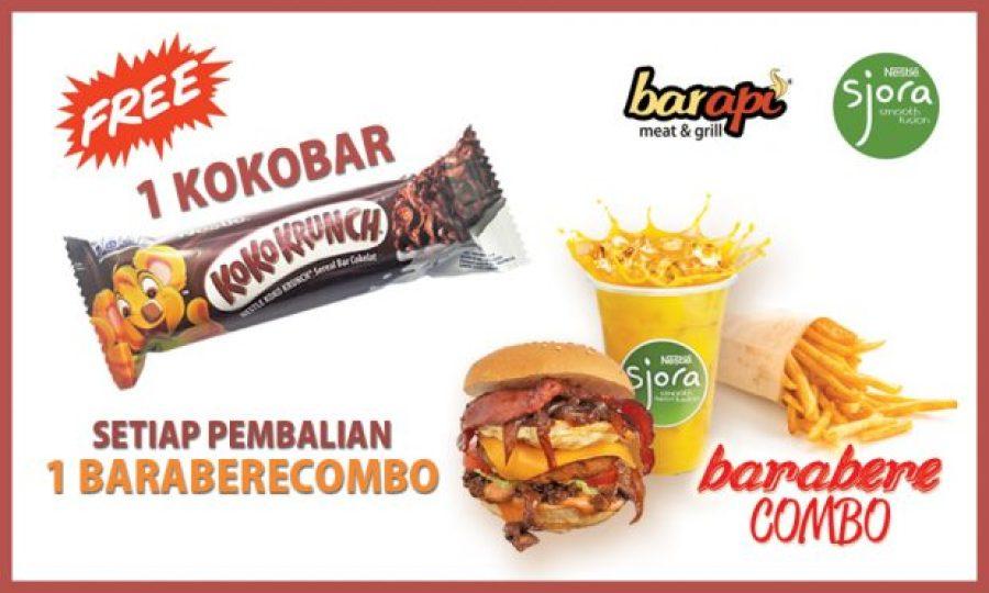 Promo BARapi kokoBAR