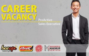 Job Vacancy: Pro-Active Sales Executive (SE)