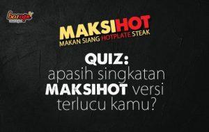 Kuis Tebak Singkatan Berhadiah Makan Steak Enak di Jakarta