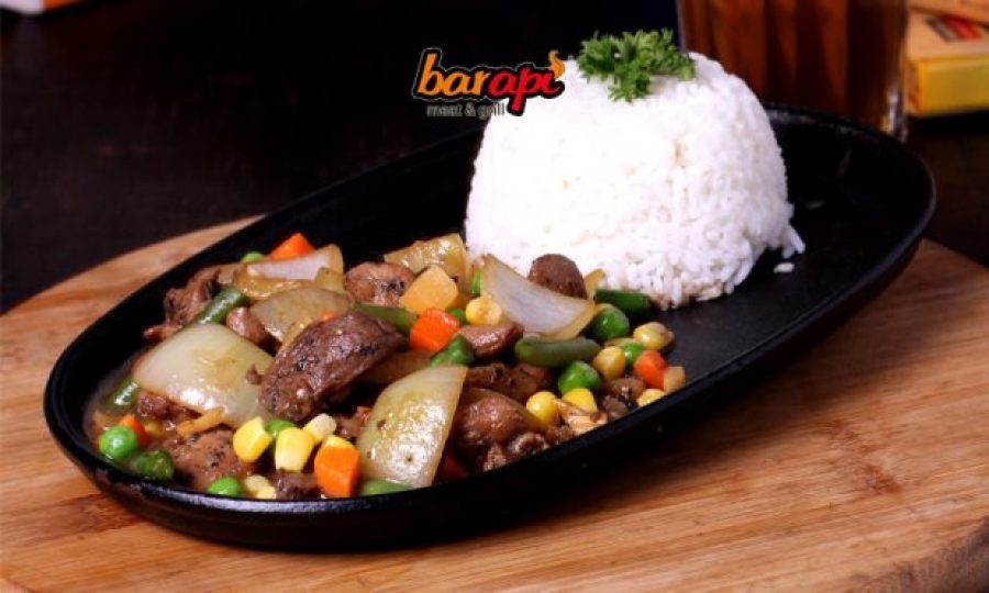 Blackpepper Rice Hotplate Steak – 30K