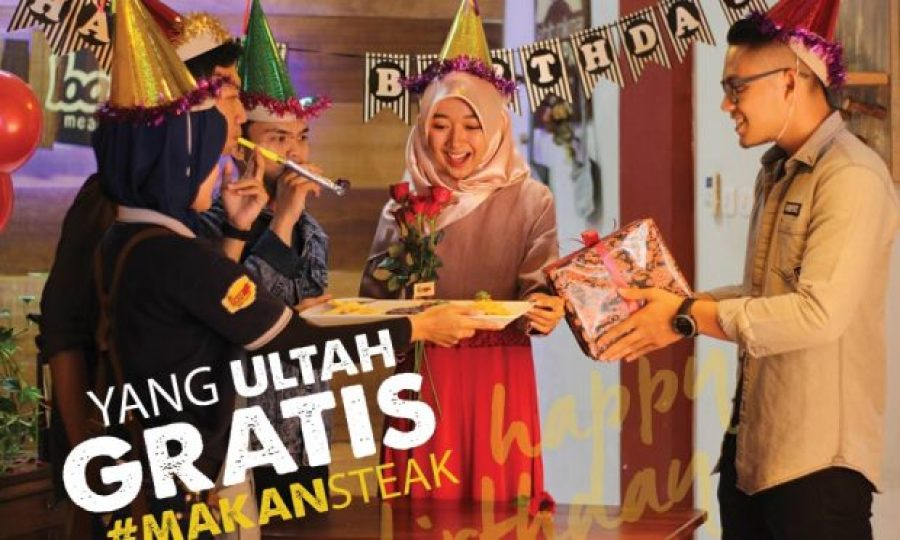 Promo Makan Steak Gratis
