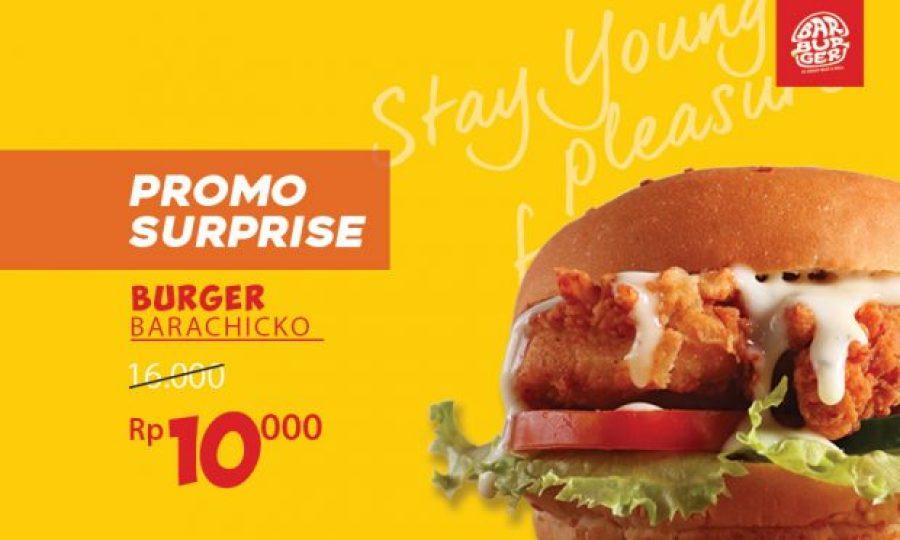 Promo Burgers di GoFood