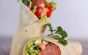 Grilled Sausage Wrap – 15K