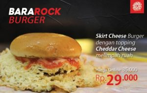 Burger Jakarta Bangga Luncurkan Menu Baru