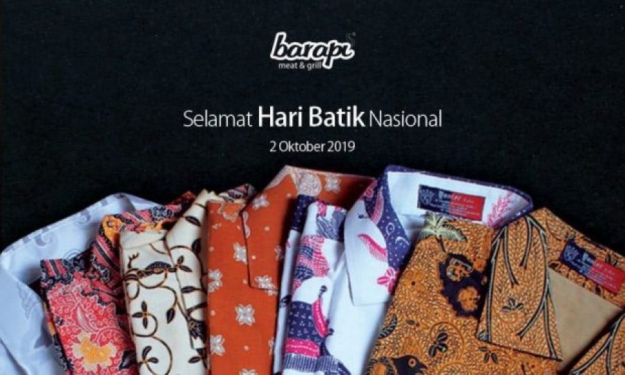 Hari Batik Nasional di Resto Steak Jakarta