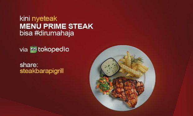 Restoran Steak dan Burger Jakarta Hadirkan Ready To Cook