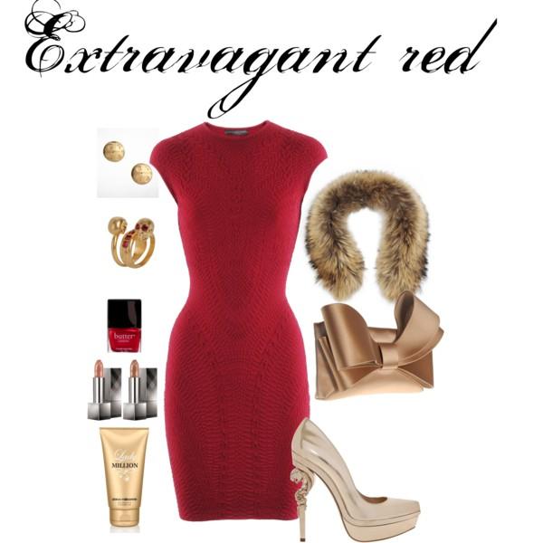 Extravagant red