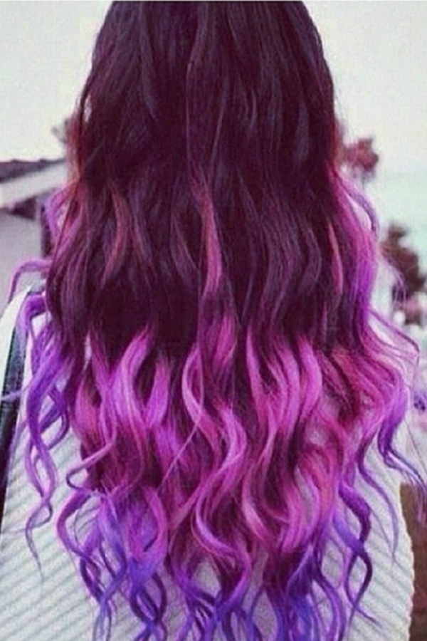 colored ombre natural hair