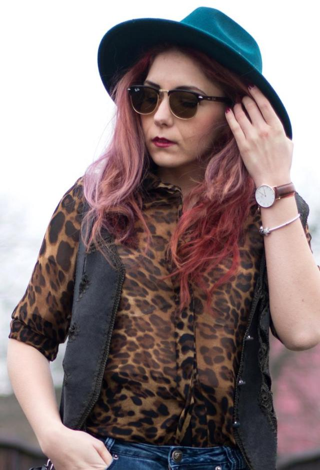 wellington watch leopard shirt
