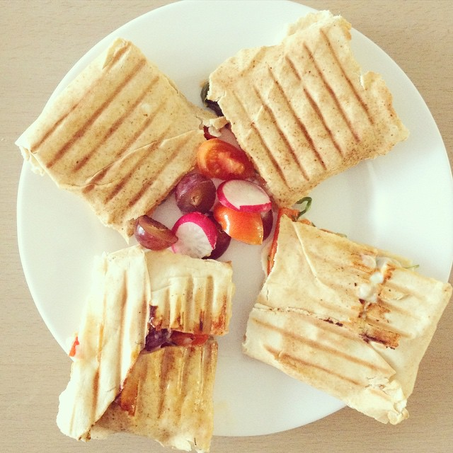 hot sandwitch wraps