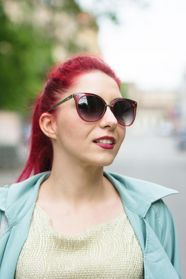 Dior frozen sunglasses