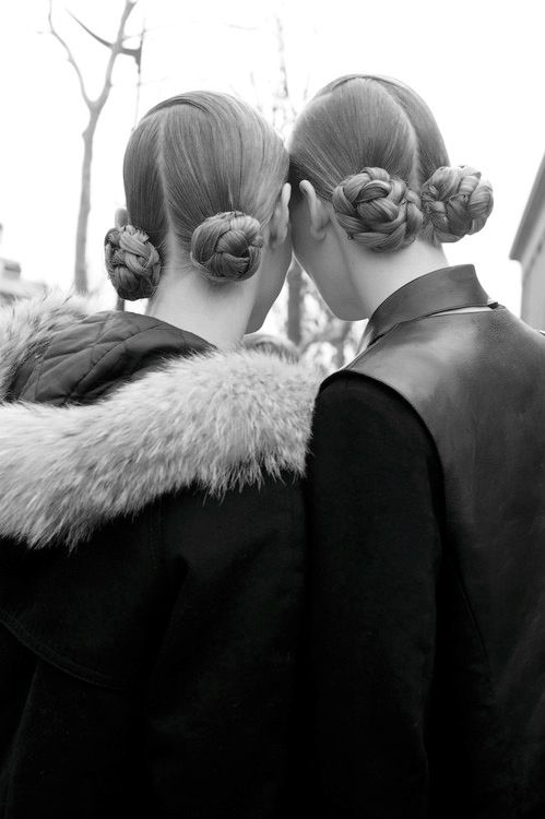 braided knots hairstyle