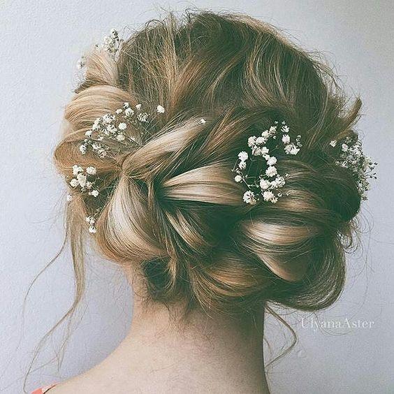 loose braid bridal hairstyle