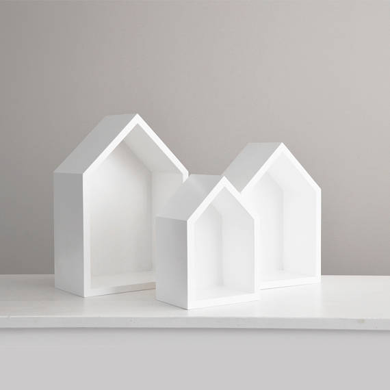 house shaped baby toy shelves