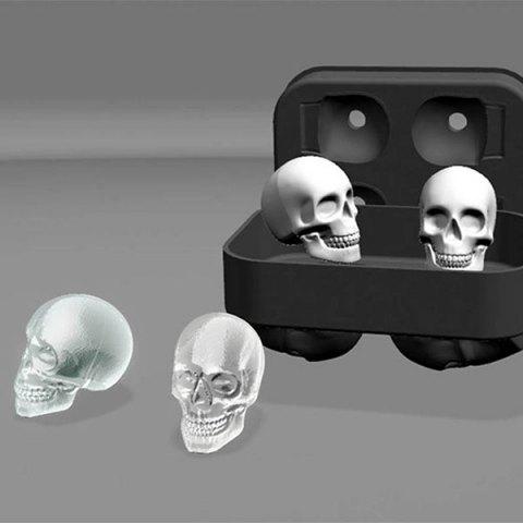 ice skull molds