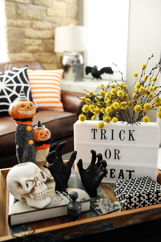 home decor ideas for Halloween