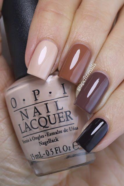 beige neutral nails