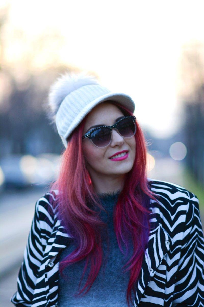 red purple hair by pravana