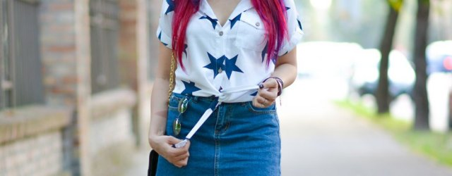 Cute Jean Skirt Oufits