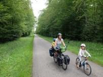 Daar geraken was een ramp maar eenmaal boven heerlijk fietsen op Route de Colinnes