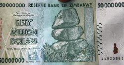 Zimbabwe $50 Million Note Not Enough