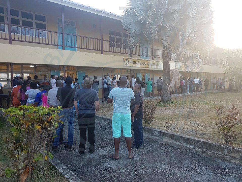 ELECTIONS - Voting going smoothly in the east