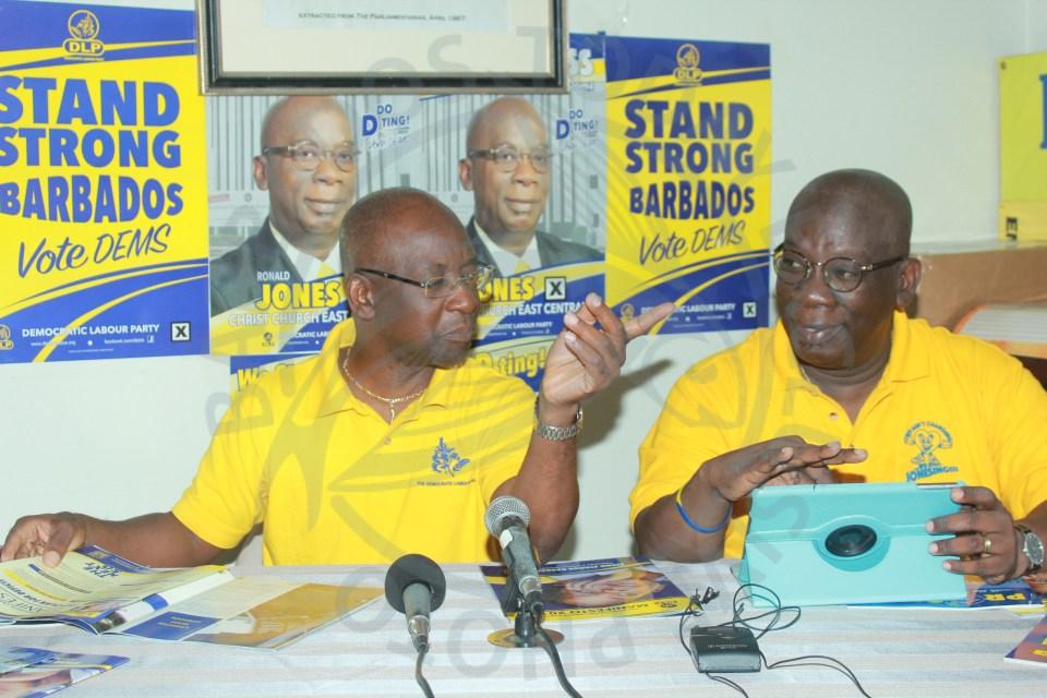 DLP questions BLP's clean campaign promise
