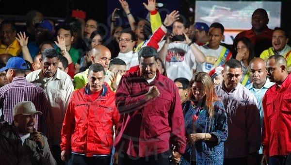 VENEZUELA: Maduro wins second term amid claims of vote rigging